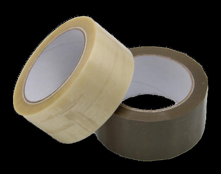 Hotmelt Tape Brown And Transparent